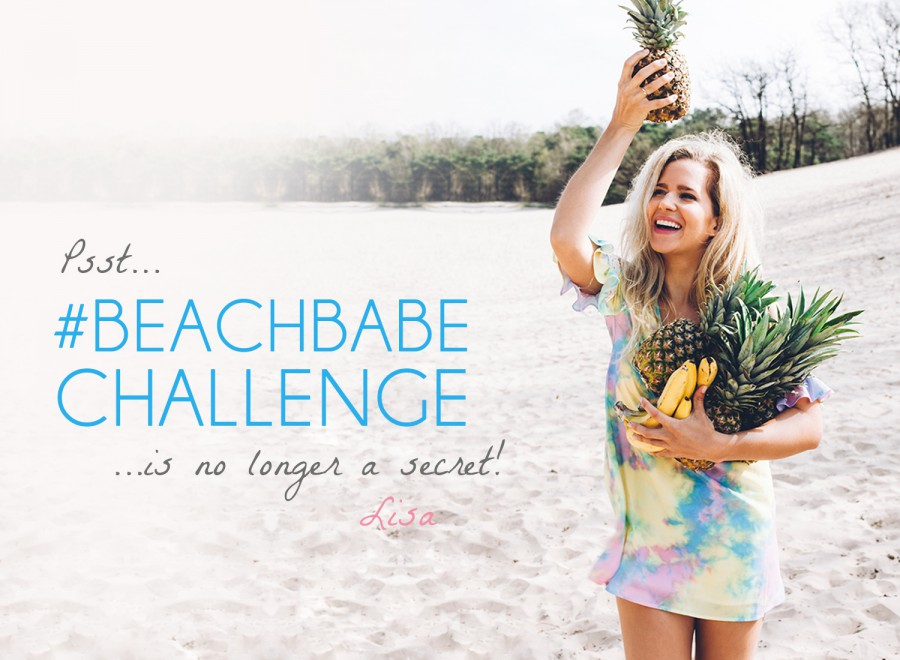 Psssst…the #beachbabechallenge is no longer a secret